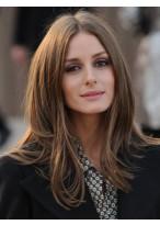 Perruque Agréable Lisse Cheveux Naturels Lace Front