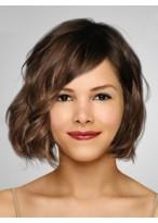 Perruque Admirable Ondulée Cheveux Naturels Lace Front