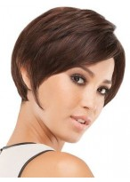 Perruque Abordable Lisse Lace Front Synthétique