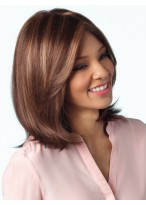 Perruque Attractive Lisse Lace Front Synthétique